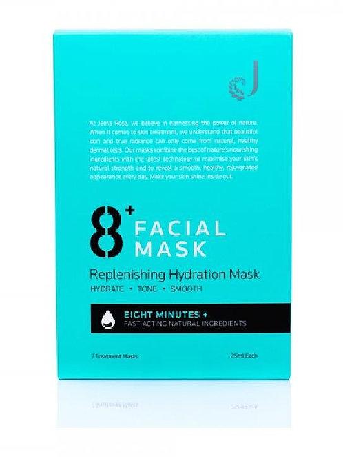 Jema Rose-8+ Replenishing Hydration Mask 7x25ml