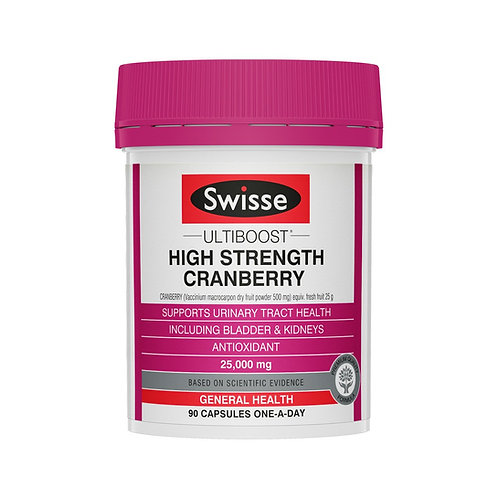 Swisse High Strength Cranberry 90 Capsules