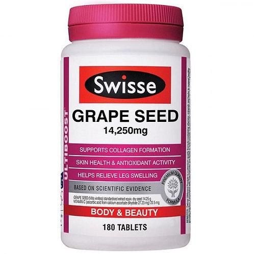 Swisse Ultiboost Grape Seed 14,250mg 180Tabs