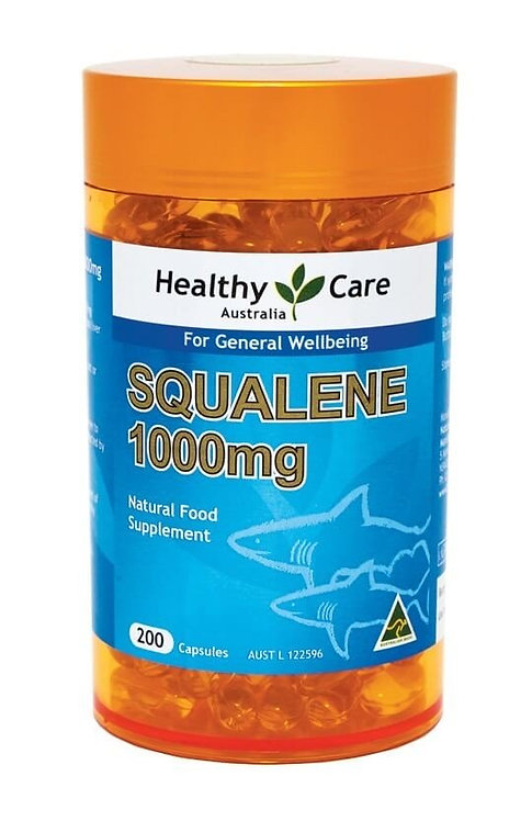 Healthy Care Squalene 1000mg 200 Capsules