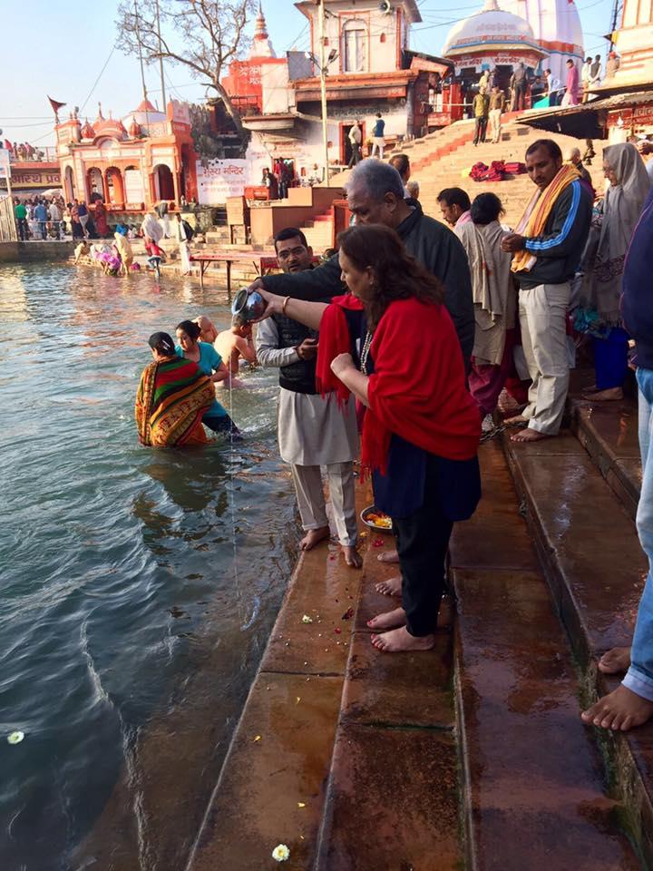 Sunrise Puja, Haridwar, River Ganges