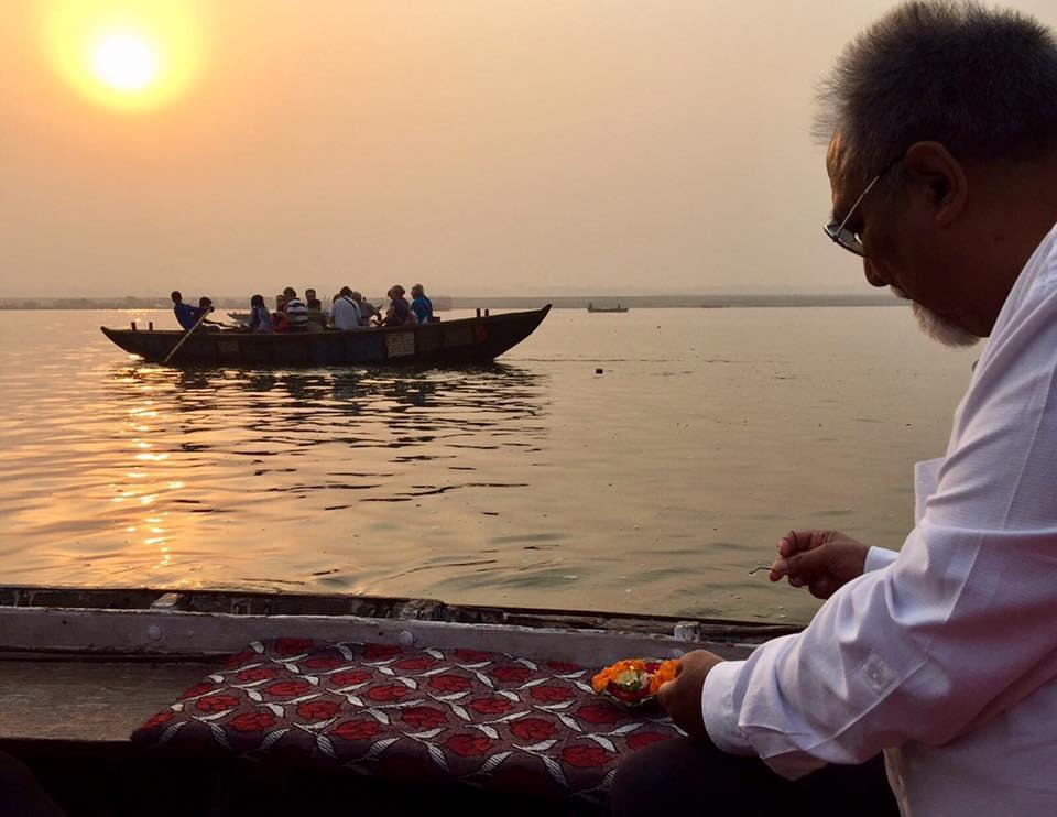 Sunrise Puja, Varanasi, Ganges