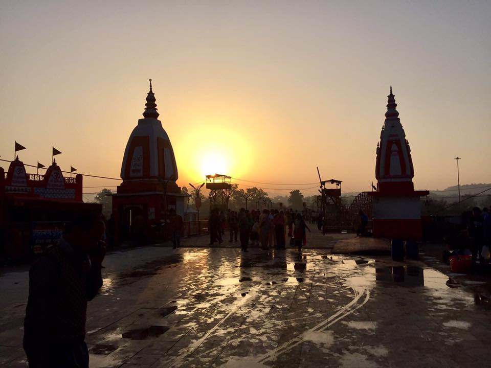 Sunrise Puja, Haridwar
