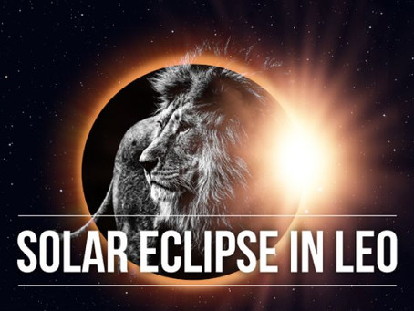 New Moon Total Solar Eclipse In Leo