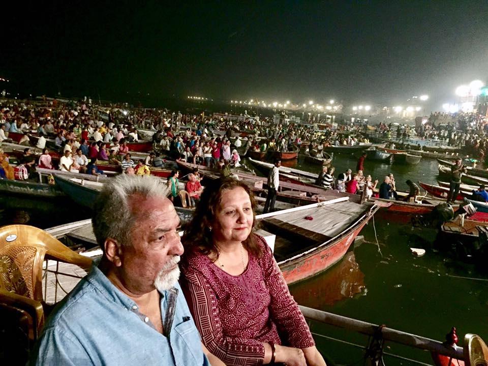 Evening Prayers, Ganges, Varanasi