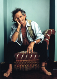 Picture of Keith Richards of the Rolling Stones