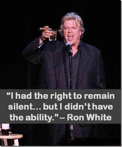 picture of Ron White, the comic