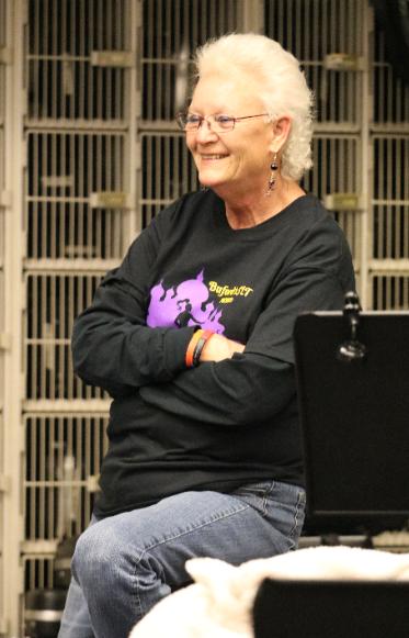 Joan Durrer - Backstage Crew