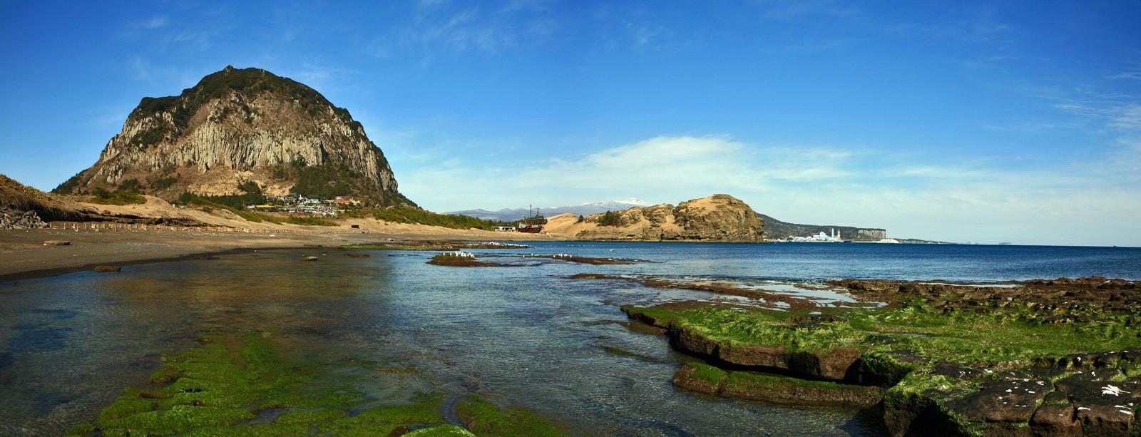 Sanbangsan and Yongmeori Coast