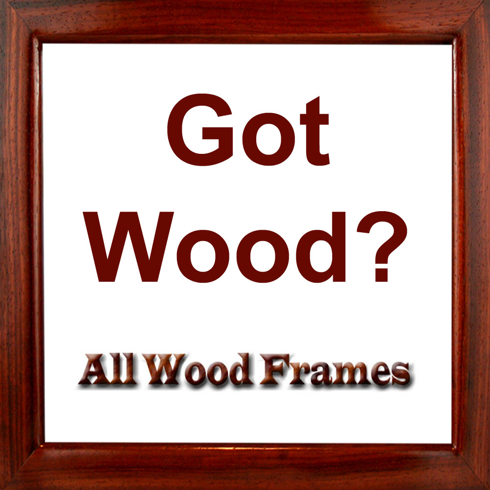 All Wood Frames | Custom Handcrafted Solid Wood Picture Frames