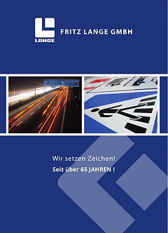 Imagebroschüre Fritz Lange GmbH