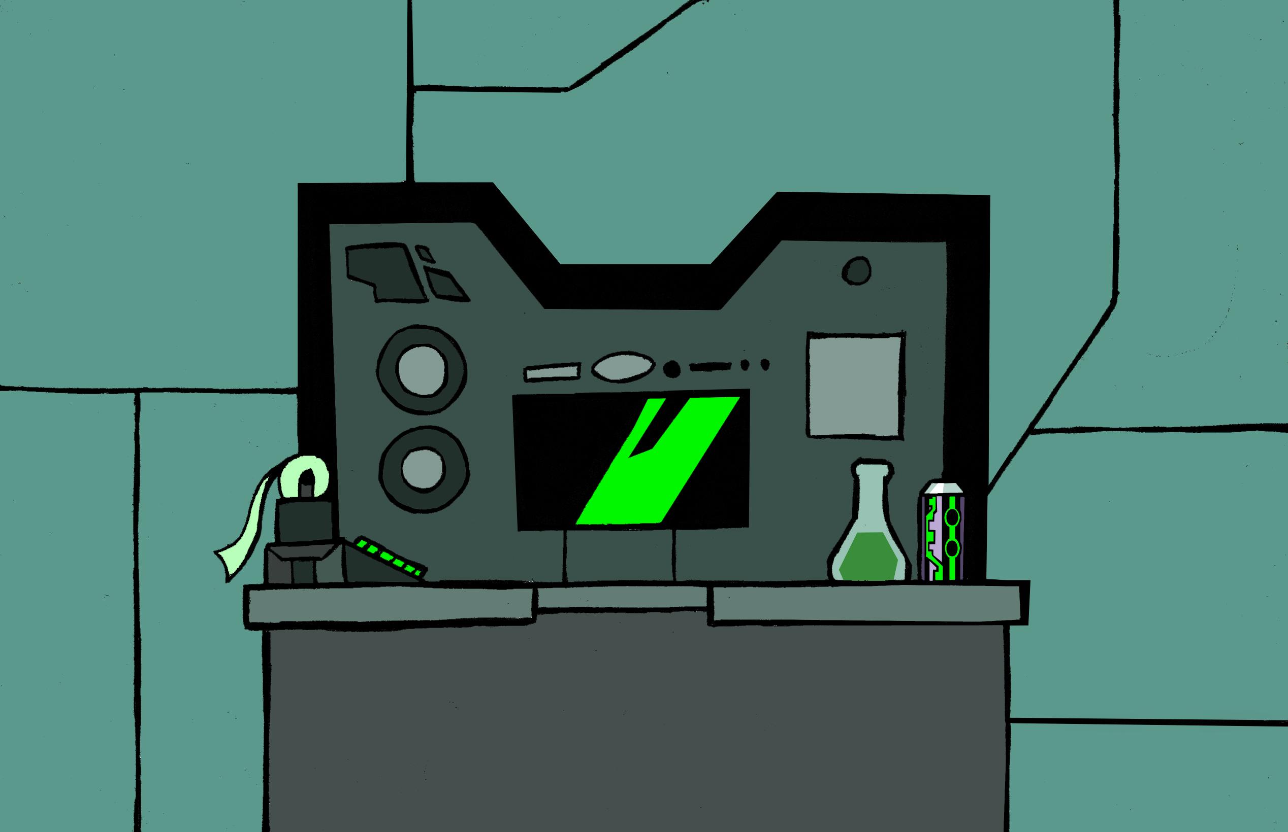 Plumber Lab Background 2