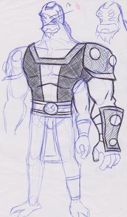 Four Arms Concept 1