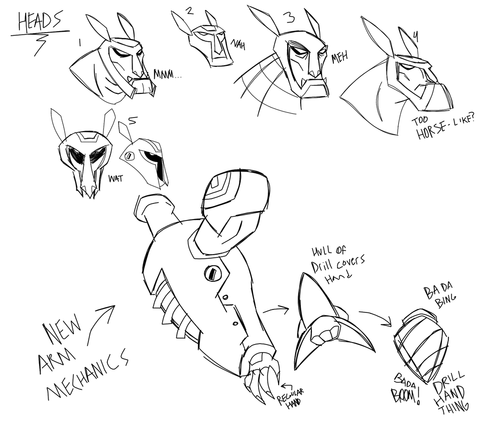 Armodrillo Concept Sheet