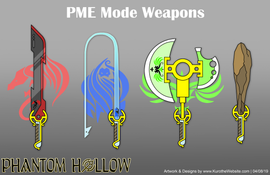 PME Weapons