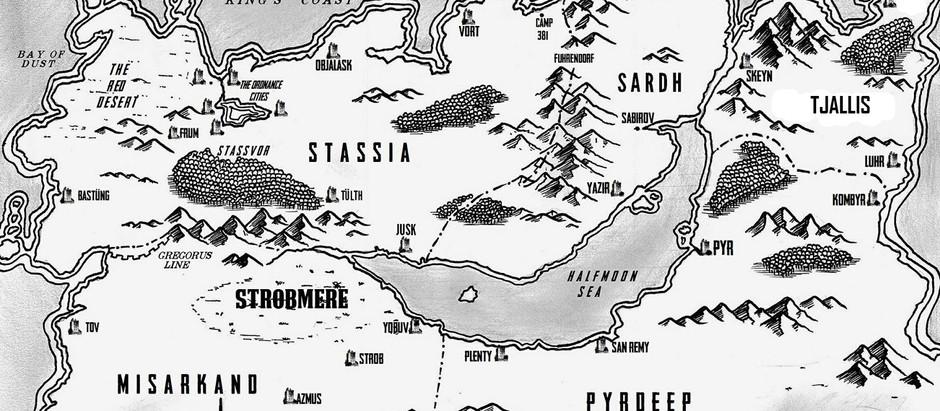 Timberwolf - the map!