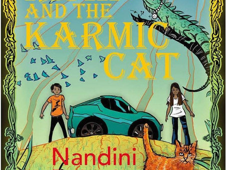 Beautiful Books: Rishi and the Karmic Cat