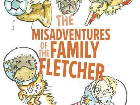 Beautiful Books: The Misadventures of the Family Fletcher by Dana Alison Levy