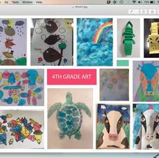3rd & 4th Grade Art
