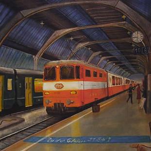 ZH Hb, mit 17 Jahren gemalt