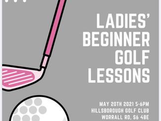 Ladies Beginner Golf Lessons