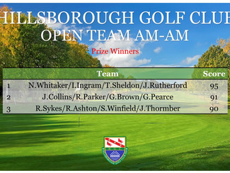 Open Am-Am Results