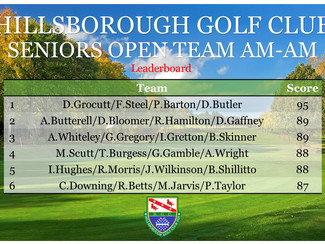 Seniors Open Am-Am Results