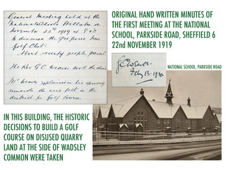 Origins of Hillsborough Golf Club