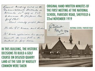 Origins of Hillsborough Golf Club