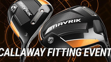 Callaway Fitting Event - Monday 20th April & FREE 60 Minute Lesson