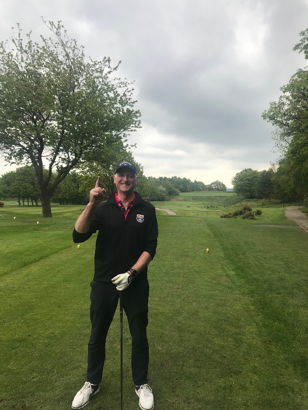 Congratulations to Richard for a fantastic Hole in one during a Captain / Pro challenge. Aced with a cheeky rescue club on the 6th and yes chalk that up to a win !