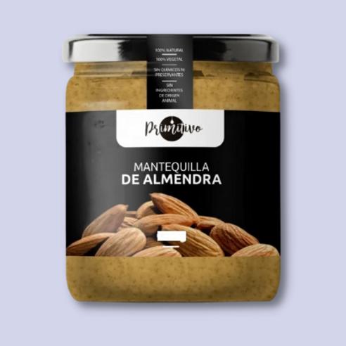 MANTEQUILLA DE ALMENDRAS