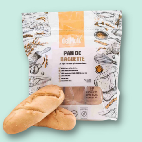 PAN BAGUETTE SIN GLUTEN