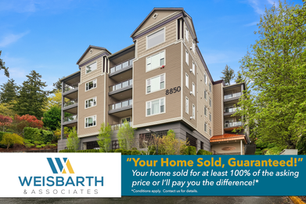 Sun-filled luxury condo in the heart of Redmond, with stunning views of the Redmond Valley, Downtown and the hills beyond.