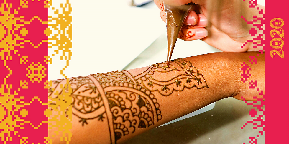 Create your own Henna design
