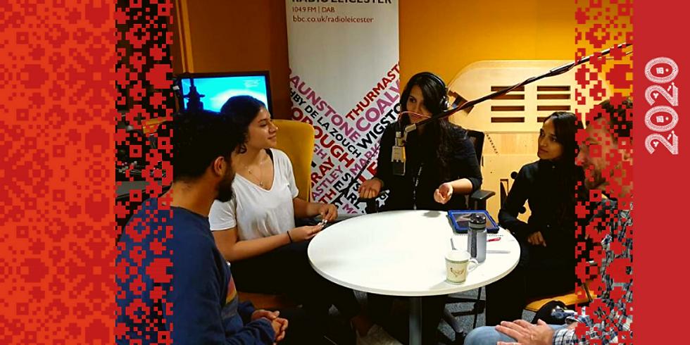 BBC Radio Leicester's Young British Asians Talk: Creativity in Lockdown