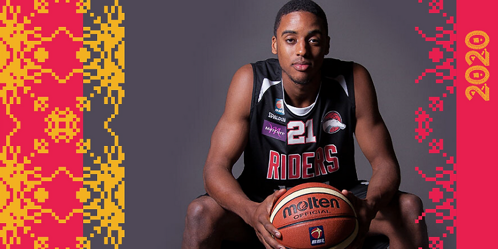 Leicester Riders In Conversation: Jamell Anderson