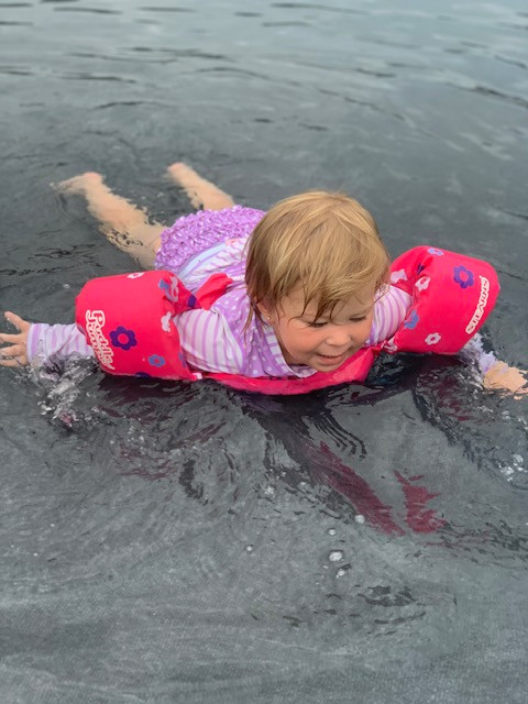 Ella Swimming
