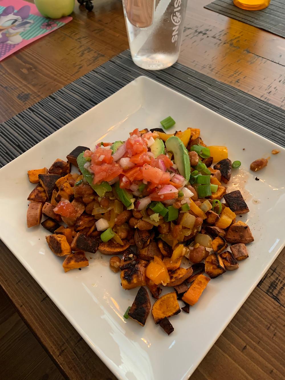 Homemade Sweet Potato Dish