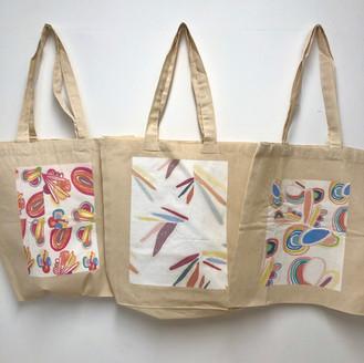 digital print on canvas bag