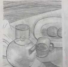 Foundation Drawing I, University of Dayton