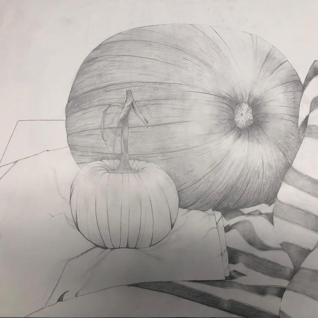 Foundations Drawing I, University of Dayton