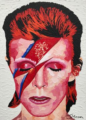 Ziggy (David Bowie) - 70cm x 50cm