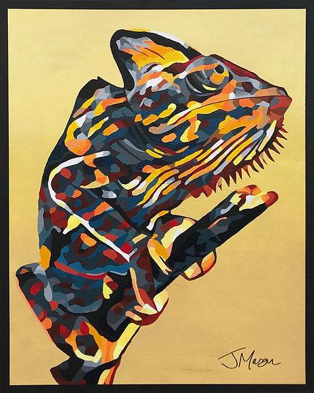 """""""Chameleon"""" 100cm x 80cm"""
