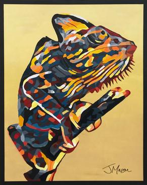 Chameleon - 100cm x 80cm