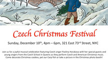 Annual Czech Christmas Festival is here!!!