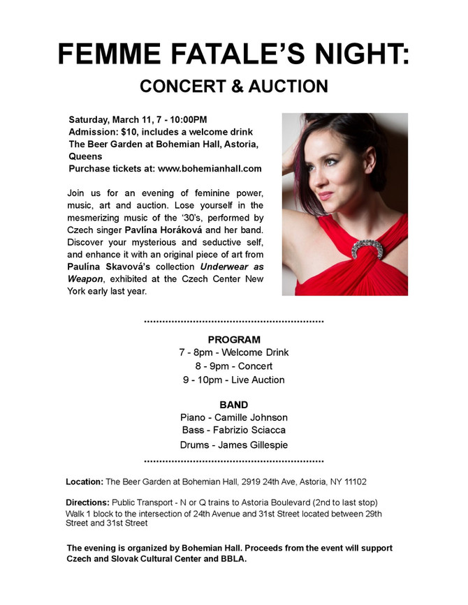 Jazz Concert and Auction