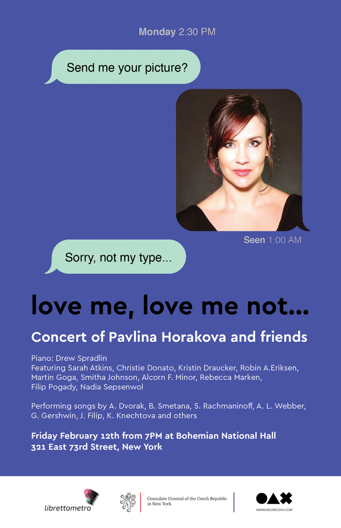 Valentine's day Concert: Love me, love me not...