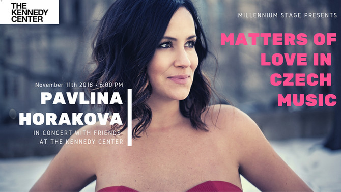 Pavlina Horakova and friends at the Millennium Stage - Kennedy Center Debut