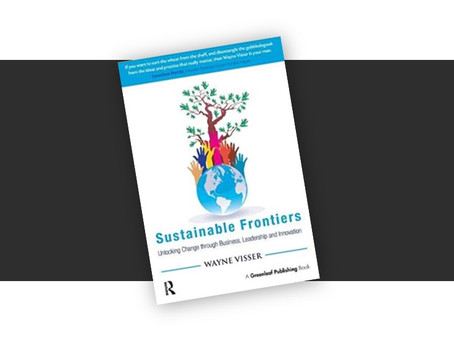 Sustainable Frontiers & the New Language of Business